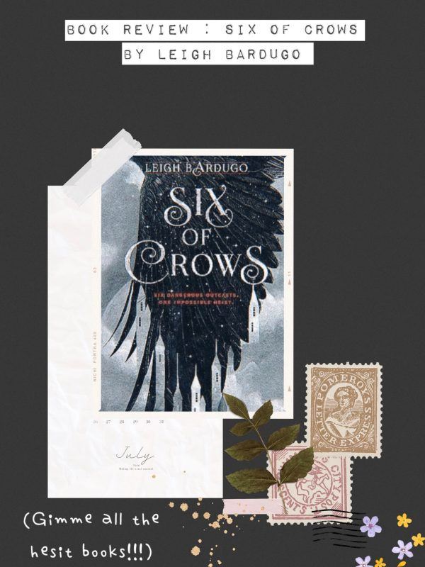 Book Review Six of Crows by Leigh Bardugo