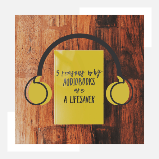 5 benefits of audiobooks - Audiobooks can be a literal lifesaver. Here are 5 benefits of including them in your daily routine
