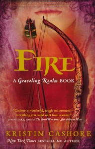 book cover of Fire by Kristin Cashore published by Dial