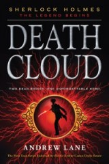 paperback cover of Death Cloud by Andrew Lane published by Square Fish