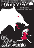 book cover of Lies Knives and Girls in Red Dresses by Ron Koertge published by Candlewick