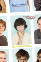 book cover of Nothing Special by Geoff Herbach published by Sourcebooks