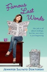 book cover of Famous Last Words by Jennifer Salvato Doktorski published by Henry Holt