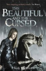 UK book cover of The Beautiful and the Cursed by Page Morgan published by Hot Key Books