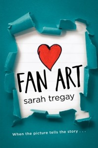 book cover of Fan Art by Sarah Tregay published by Katherine Tegen Books