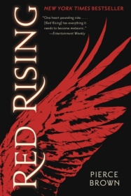 book cover of Red Rising by Pierce Brown published by Del Rey