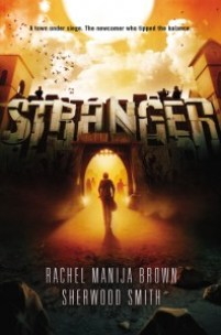 book cover of Stranger by Rachel Manija Brown and Sherwood Smith published by Viking