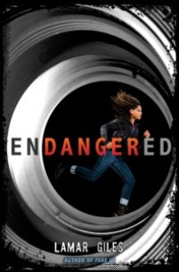 book cover of Endangered by Lamar Giles published by Harper Teen