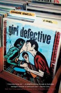 book cover of Girl Defective by Simmone Howell published by Atheneum Books for Young Readers