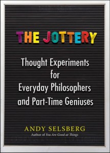 book cover of The Jottery by Andy Selsberg published by Perigee