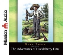CD cover of Adventures of Huckleberry Finn  by Mark Twain | Read by Robin Field Published by Mission Audio