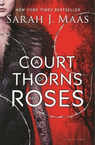 book cover of Court of Thorns and Roses by Sarah J Maas, published by Bloomsbury