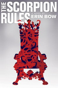 book cover of The Scorpion Rules by Erin Bow published by Margaret McElderry Books | BooksYALove.com