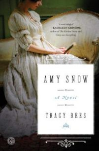 book cover of Amy Snow by Tracy Rees published by Simon & Schuster | recommended on BooksYALove.com