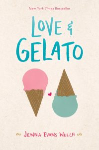 book cover of Love & Gelato by Jenna Evans Welch published by Simon Pulse | recommended on BooksYALove.com