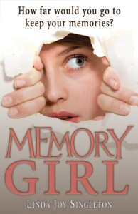 book cover of Memory Girl by Linda Joy Singleton published by CBAY Books  | recommended on BooksYALove.com