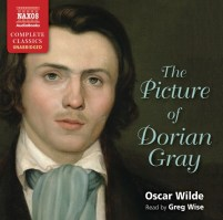 CD cover of The Picture of Dorian Gray by Oscar Wilde | Read by Greg Wise Published by Naxos AudioBooks | recommended on BooksYALove.com
