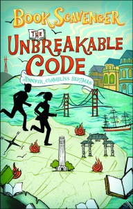 book cover of Unbreakable Code by Jennifer Chambliss Bertman published by Henry Holt Books for Young Readers  | recommended on BooksYALove.com