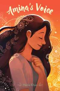 book cover of Amina's Voice by Hana Khan published by Salaam Reads  | recommended on BooksYALove.com
