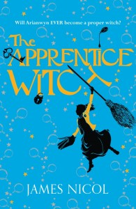 book cover of Apprentice Witch by James Nicol published by Chicken House Books | recommended on BooksYALove.com