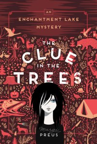 book cover of Clue in the Trees, by Margie Preus, published by University of Minnesota Press | recommended on BooksYALove.com