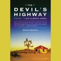 CD cover of Devil's Highway, by Luis Alberto Urrea | Read by Luis Alberto Urrea Published by Hachette Audio | recommended on BooksYALove.com
