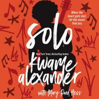CD cover of Solo, by Kwame Alexander, Mary Rand Hess | Read by Kwame Alexander Published by Blink | recommended on BooksYALove.com