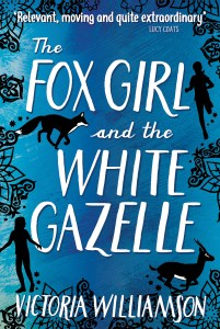 book cover of Fox Girl and the White Gazelle, by Victoria Williamson. Published by Floris Books | recommended on BooksYALove.com