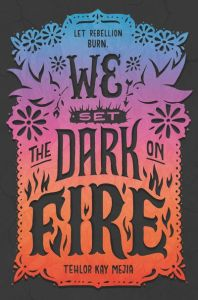 book cover of We Set the Dark on Fire, by Tehlor Kay Meija. Published by Katherine Tegen Books/HMH | recommended on BooksYALove.com