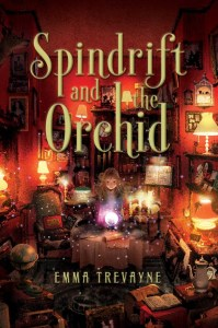 book cover of Spindrift and the Orchid, by Emma Trevayne. Published by Simon Schuster BFYR | recommended on BooksYALove.com