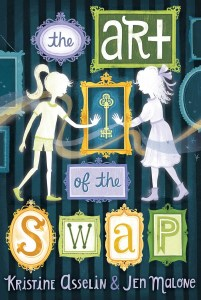 book cover of Art of the Swap, by Kristine Asselin & Jen Malone. Published by Aladdin | recommended on BooksYALove.com