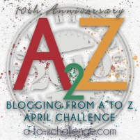 logo of A2Z Blogging from A to Z April Challenge 10th anniversary