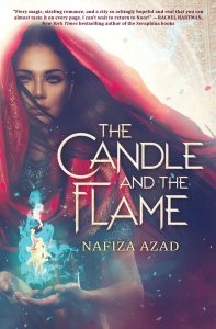 book cover of The Candle and the Flame, by Nafiza Azad. Published by Scholastic Press | recommended on BooksYALove.com