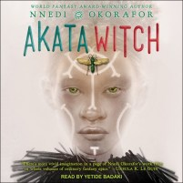CD cover of Akata Witch,  by Nnedi Okorafor | Read by Yetide Badaki Published by Tantor Audio | recommended on BooksYALove.com