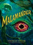 book cover of Malamander, by Thomas Taylor, art by Tom Booth. Published by Walker Books US/Candlewick | recommended on BooksYALove.com
