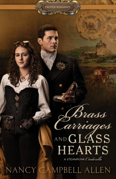 book cover of Brass Carriages and Class Hearts, by Nancy Campbell Allen. Published by Shadow Mountain | recommended on BooksYALove.com