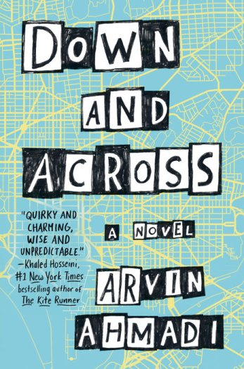 cover image of Down and Across, by Arvin Ahmadi. Published by Penguin | recommended on BooksYALove.com