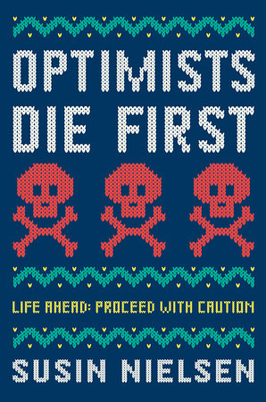 book cover of Optimists Die First, by Susin Nielsen. Published by Tundra Books | recommended on BooksYALove.com