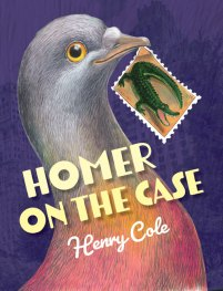book cover of Homer on the Case, by Henry Cole. Published by Peachtree Publishing | recommended on BooksYALove.com