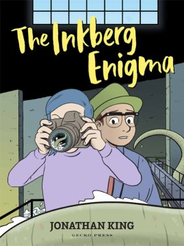 book cover of The Inkberg Enigma, by Jonathan King. Published by Gecko Press | recommended on BooksYALove.com