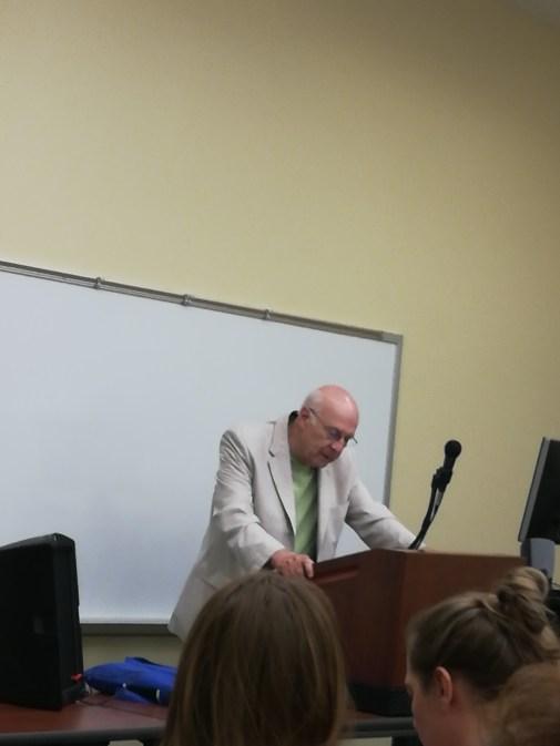 Marc Harshman, poet laureate of West Virginia.