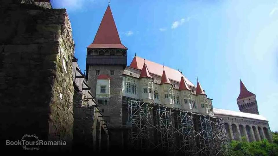The Corvin castle