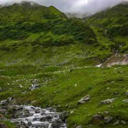 Scenery from Fagaras Mountains