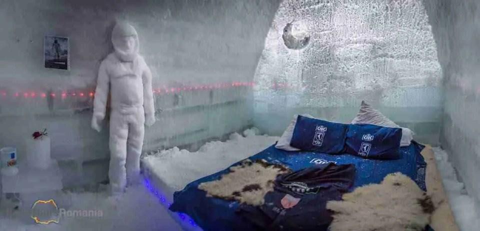 Hotel of Ice Room