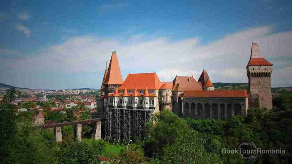 The Corvin Castle from Hunedoara