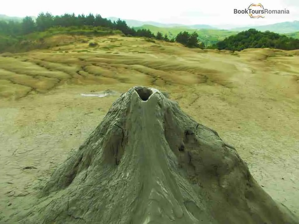 Mud Volcano in Buzau County
