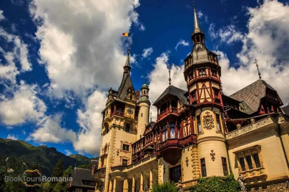 Bucharest day tour to Peles Castle