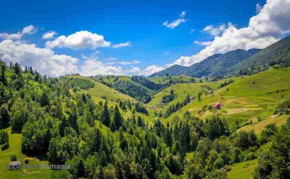 remote village in Romania
