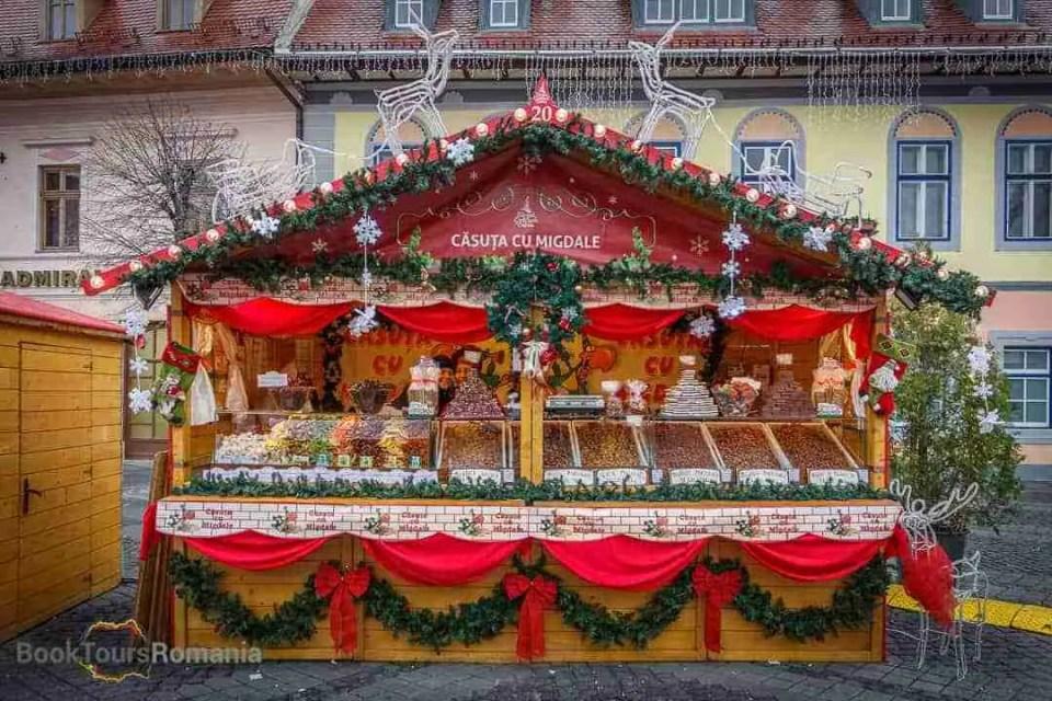 Sibiu Christmas house