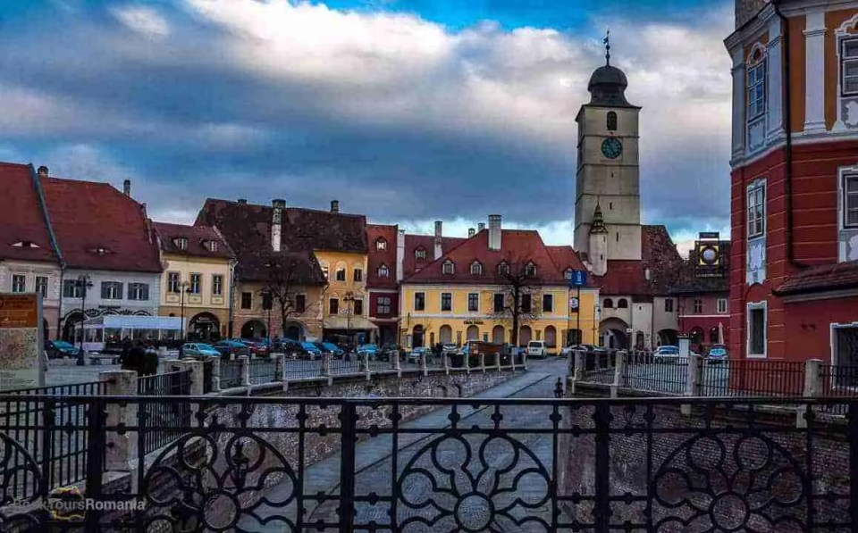 Romanian medieval towns